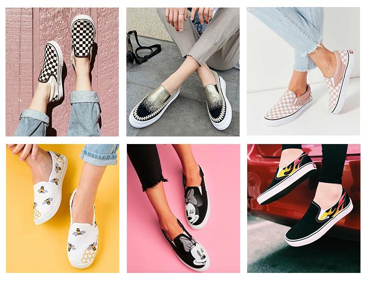 时尚一脚蹬模特展示图